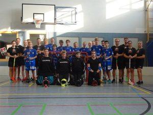 Kleintorturnier & Großtorspiel Erwachsene und U15/U17 gegen Black Pitballs St. Wendel in Neuhof