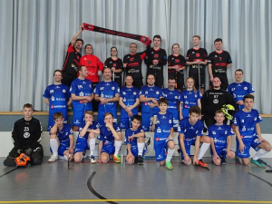 18.03.2018: Großtorspieltag Erwachsene und U15 mit Black Pitballs St. Wendel in Neuhof
